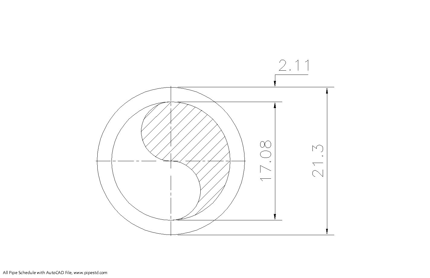 Schedule 10 Pipe 1/2 Inch DN15