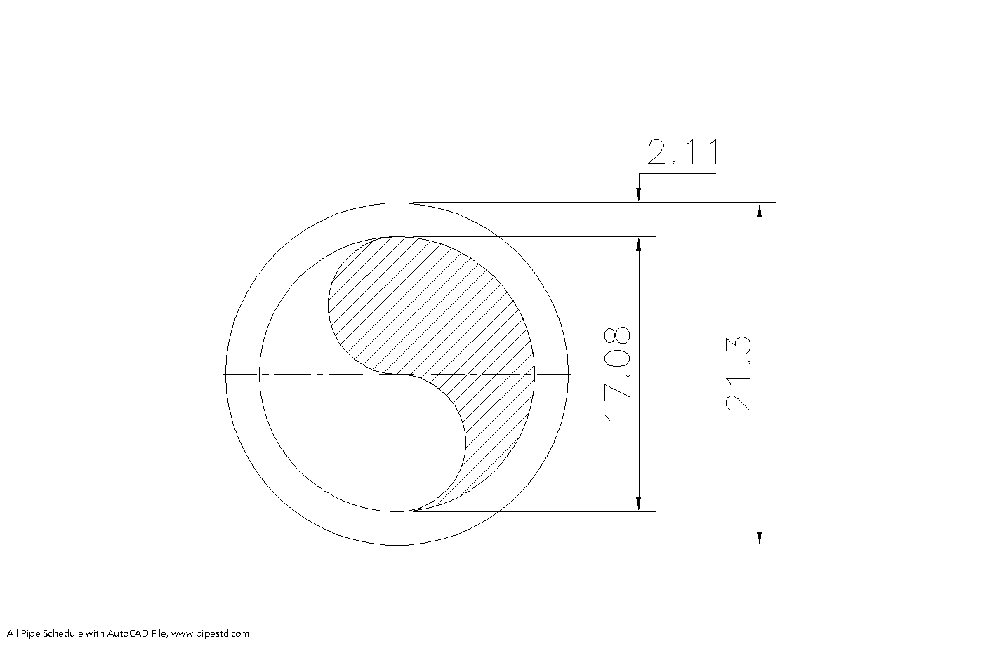 Schedule 10S Pipe 1/2 Inch DN15