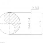 Schedule STD Pipe 34 Inch DN850