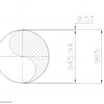 Schedule STD Pipe 38 Inch DN950