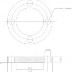 Blind Flange 2 Inch Class 150