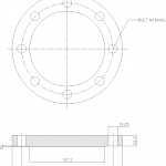 Blind Flange 4 Inch Class 150