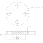 Blind Flange 1 Inch Class 300