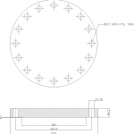 Blind Flange 12 Inch Class 300