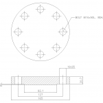 Blind Flange 2 Inch Class 300
