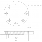 Blind Flange 4 Inch Class 300
