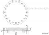 Blind Flange 14 Inch Class 600