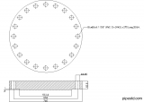 Blind Flange 18 Inch Class 600