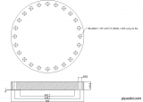 Blind Flange 24 Inch Class 600