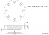 Blind Flange 3 Inch Class 600