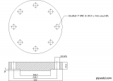 Blind Flange 5 Inch Class 600